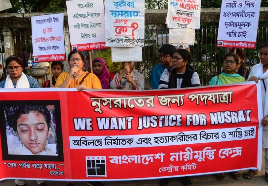Estudiante muere quemada por denunciar acoso sexual en Bangladesh