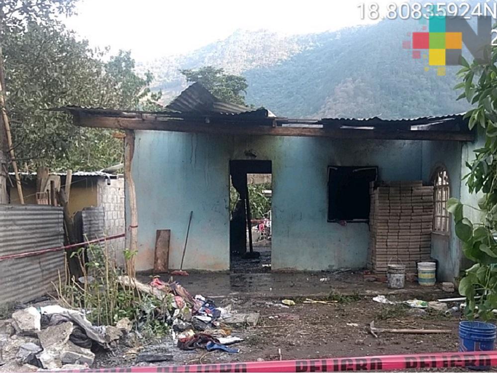 Explota polvorín en domicilio particular de Tlilapan, Veracruz