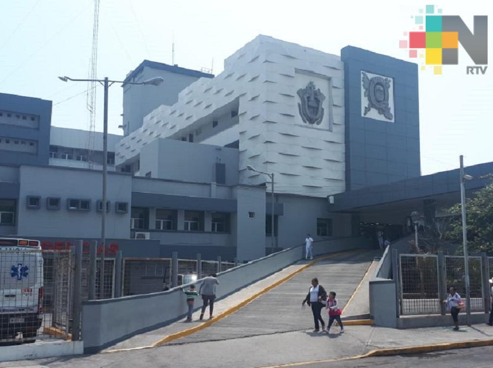 Piden apoyo para enfrentar gastos de infante internado en HAE de Veracruz