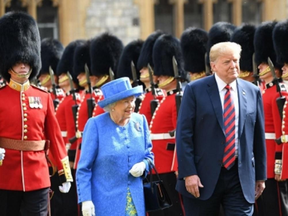 Isabel II invita a presidente de EUA para visita de Estado en junio