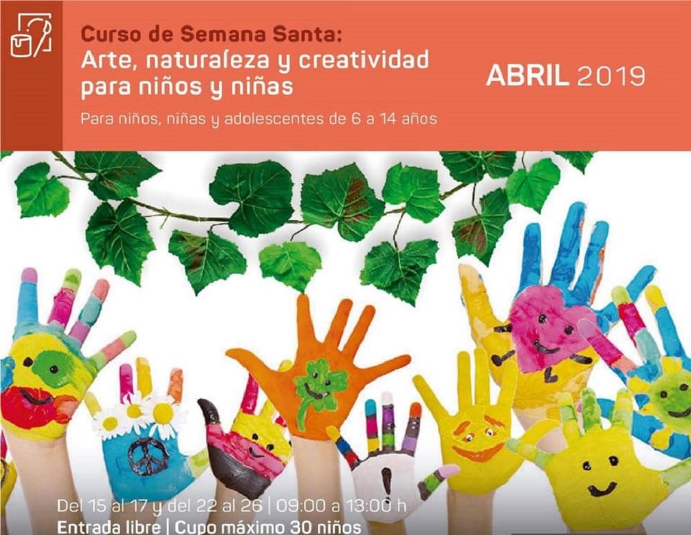 """Jardín de las Esculturas inicia curso """"Arte, naturaleza y creatividad para niños y niñas"""""""