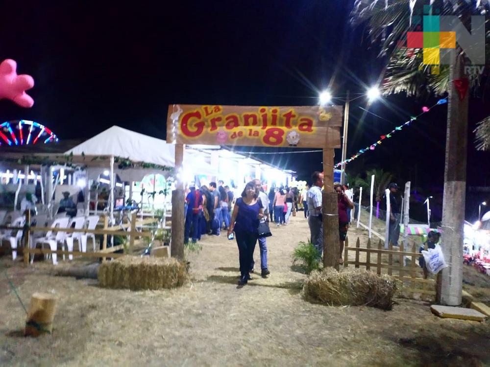 La Granjita, área preferida de los niños en la Expo Feria de Coatzacoaclos