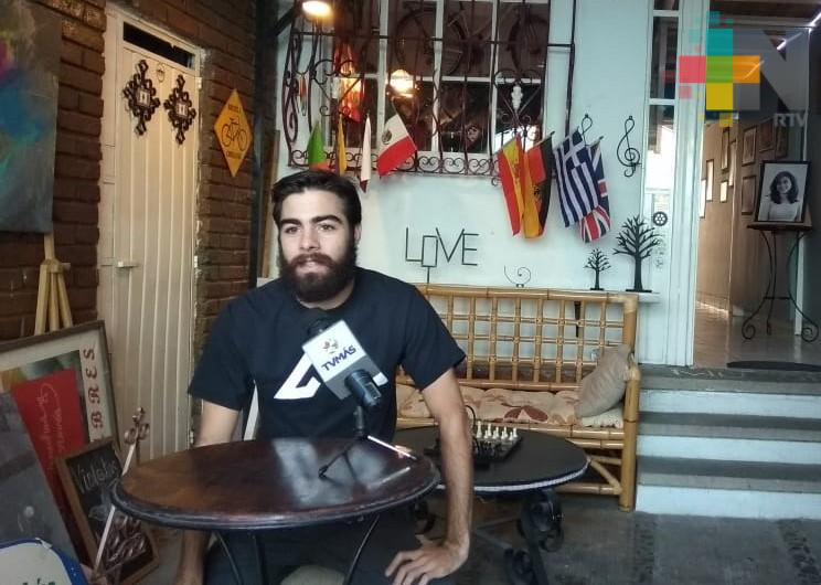 Joven uruguayo recorrió 22 mil kilómetros en bicicleta hasta México