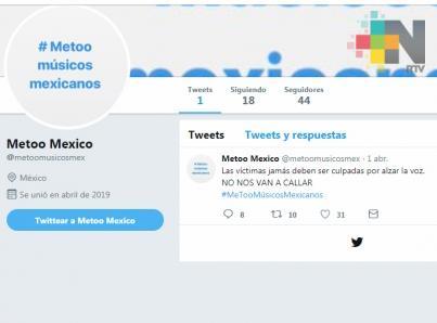 Cierra #MeTooMúsicosMexicanos y ofrece disculpas por daños