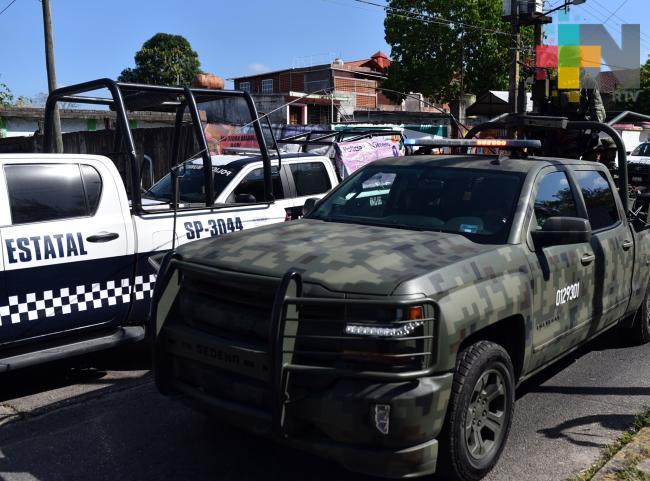 Aplican operativo en límites de Chiapas con Minatitlán, Veracruz