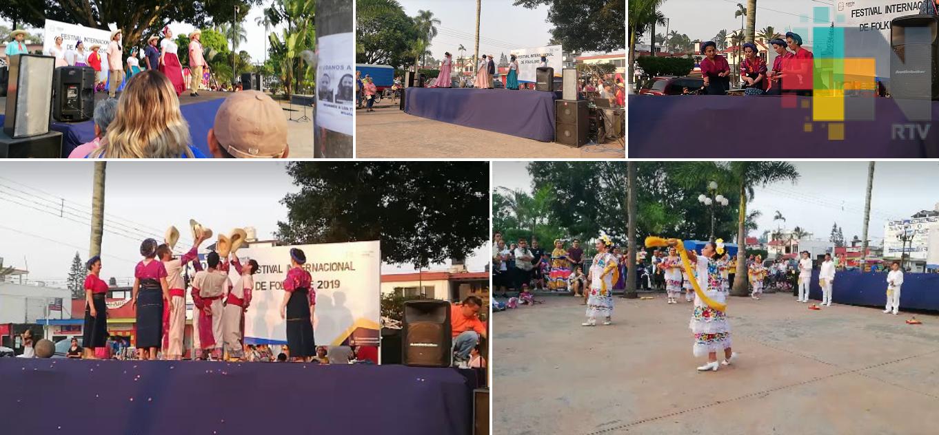 Inicia el Primer Festival Internacional del Folklore, en Fortín