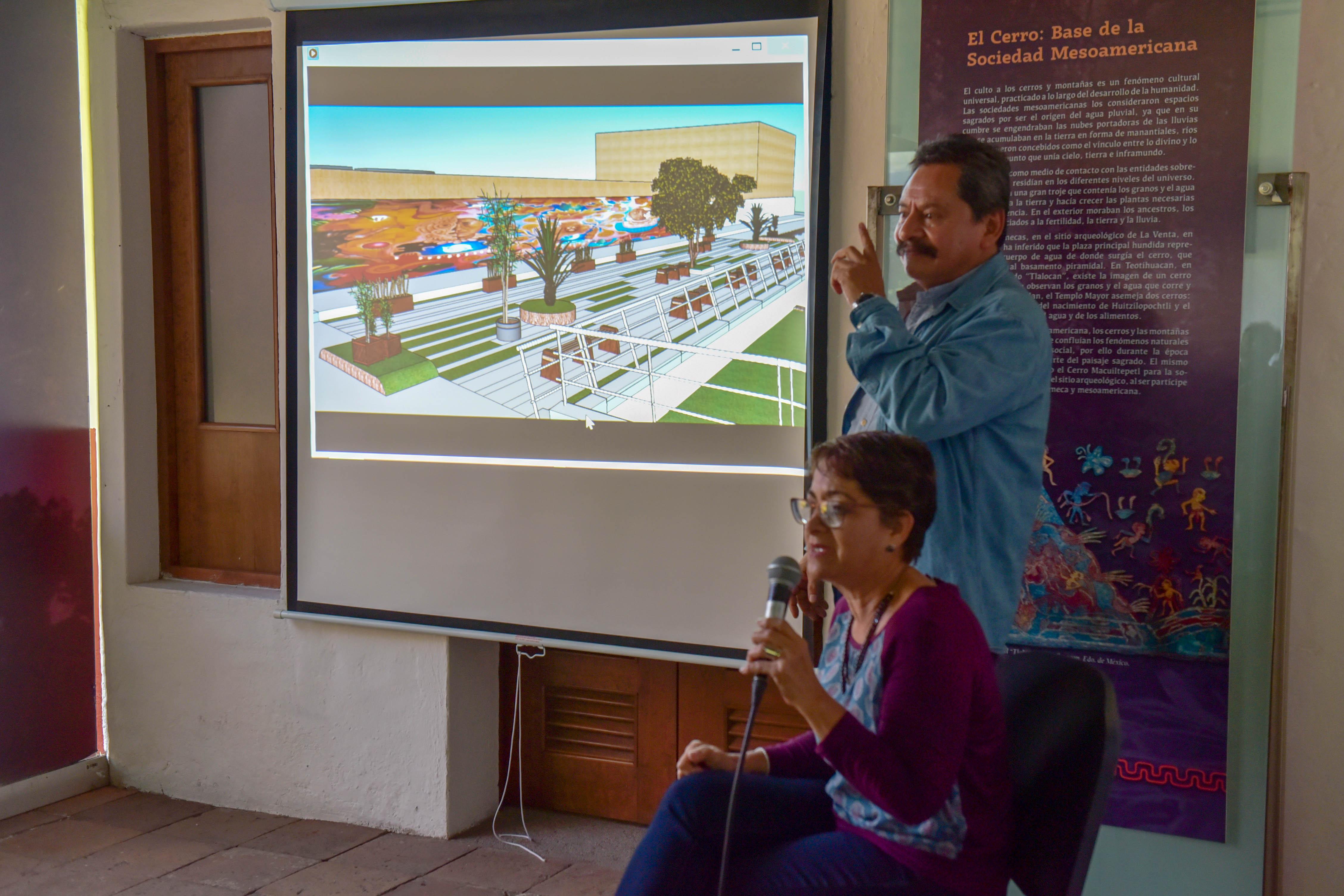 Buscan preservar el patrimonio arqueológicodel Parque Ecológico Macuiltépetl