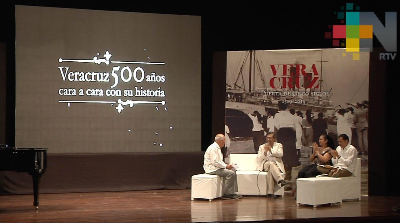 """Transmitirá RTV la serie """"Veracruz 500 años cara a cara con su historia"""""""