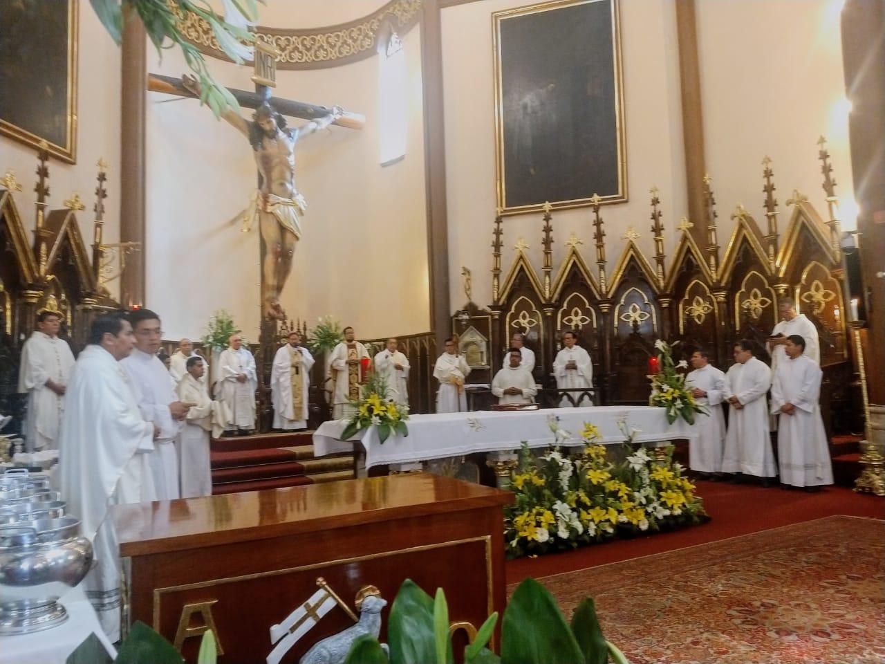 Miércoles Santo en Catedral de Xalapa
