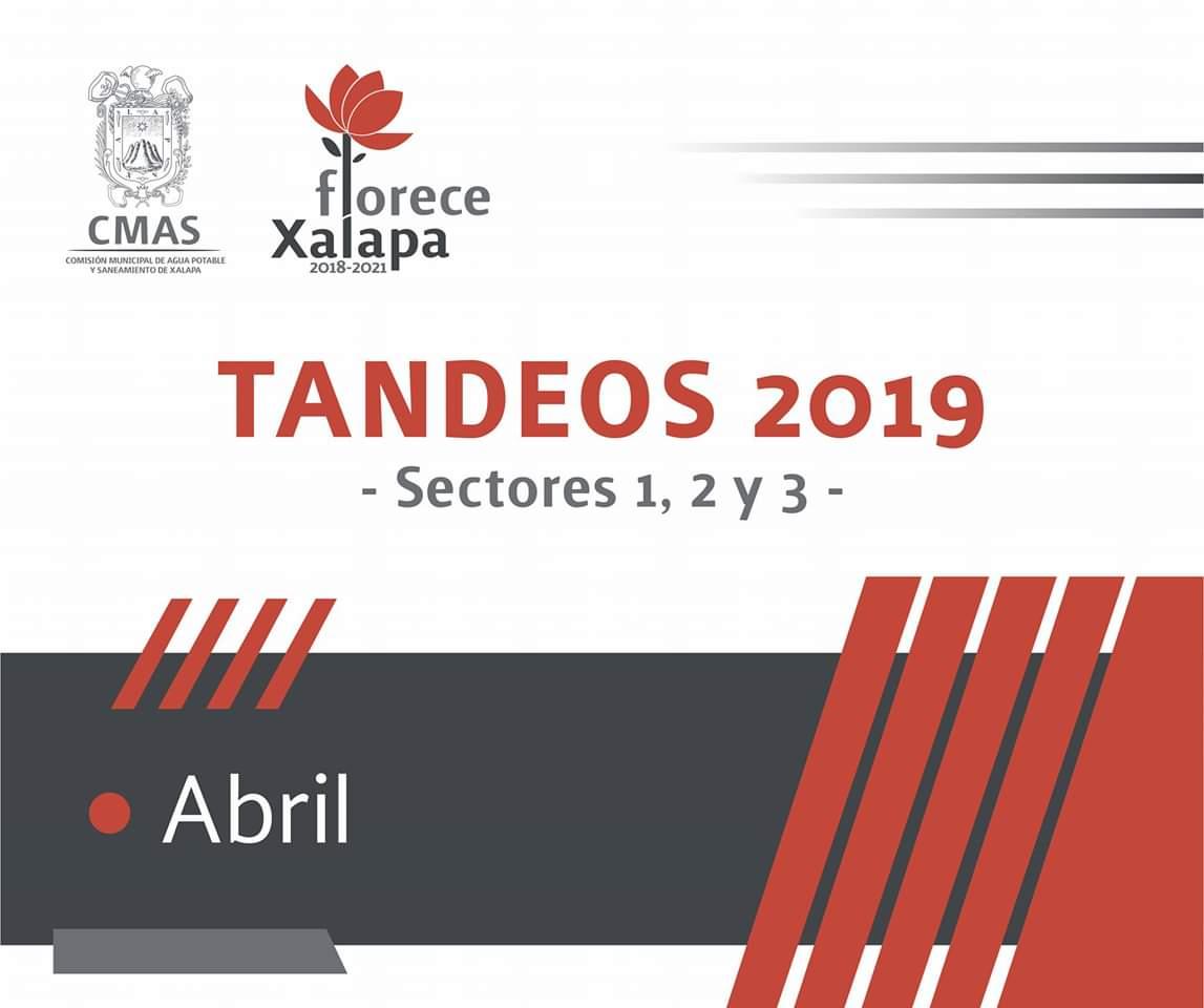 Anuncia CMAS tandeos de agua potable del 22 al 30 de abril en Xalapa
