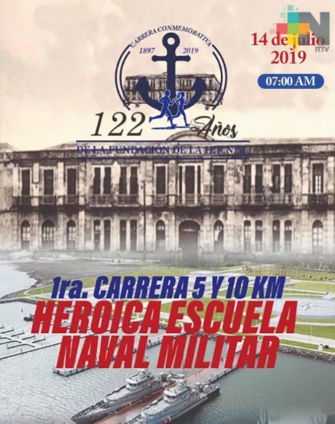 Invitan a la primera carrera de 5 y 10 kilómetros en la Heroica Escuela Naval Militar