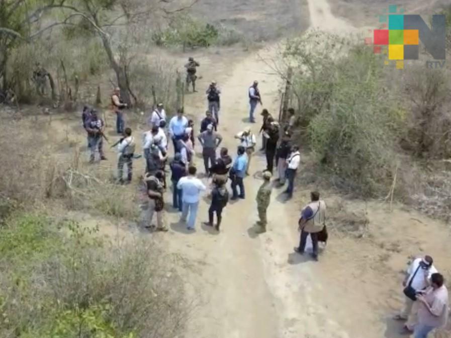 Dos colectivos de búsqueda de personas ingresan a predio de Úrsulo Galván