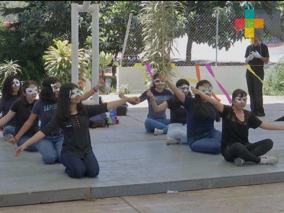 Realizan Expo Artes 2019 en la Escuela Secundaria Técnica tres de Xalapa