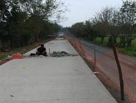 Realiza SIOP obra vial en Cazones, con inversión de 11 mdp
