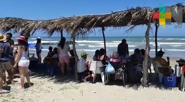 Inhibió Profeco alteración de precios a turistas en playa de Tuxpan