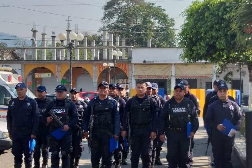 Celebran el Día del Policía Veracruzano en Cuichapa
