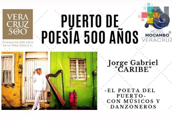 """En Boca del Río llevarán a cabo """"Puerto de Poesía 500 años"""""""