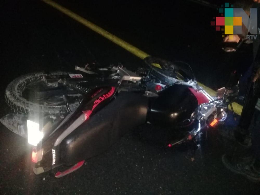 Fallecen dos motociclistas en diferentes accidentes de la zona sur de Veracruz