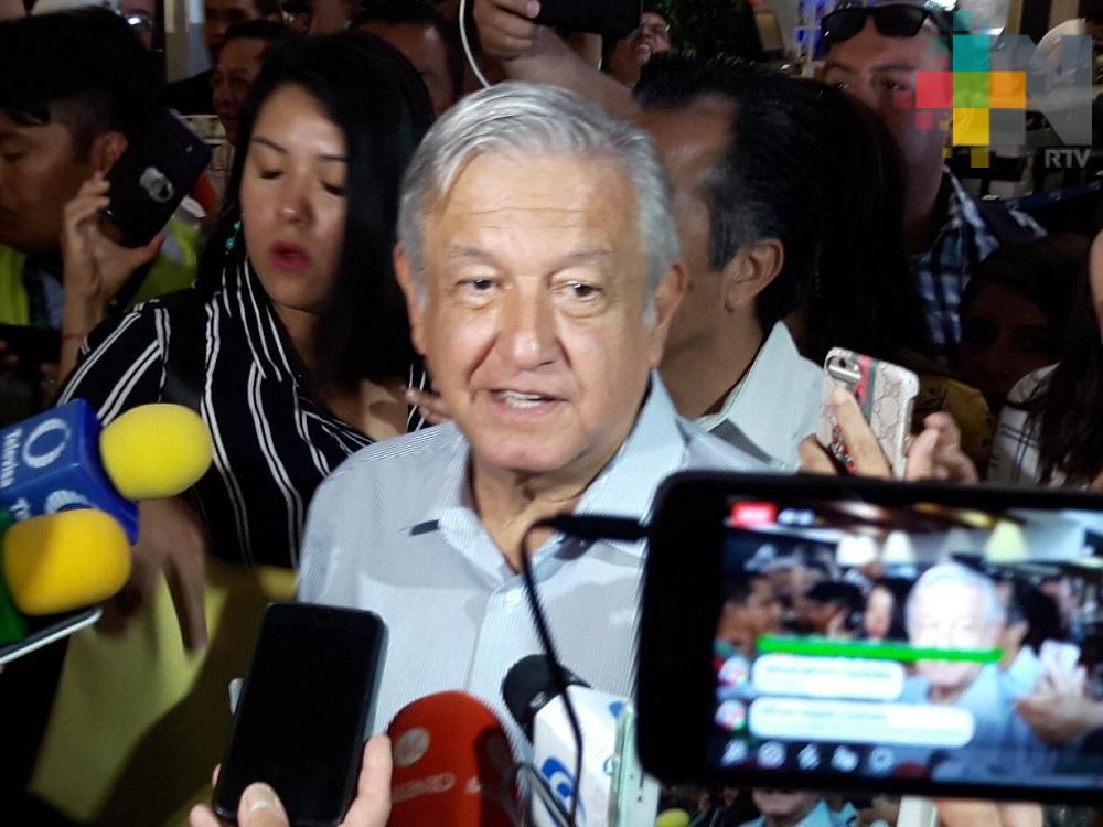 «En Veracruz ya no hay mafia del poder. Cuitláhuac, hombre honesto»: AMLO