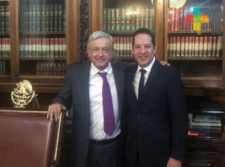 AMLO y gobernadores panistas avanzan en Acuerdo Nacional por la Concordia