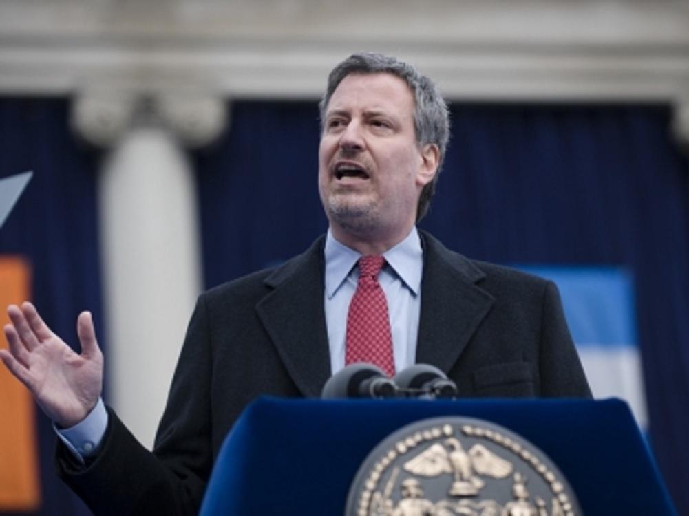 Bill de Blasio, alcalde de Nueva York anuncia candidatura presidencial
