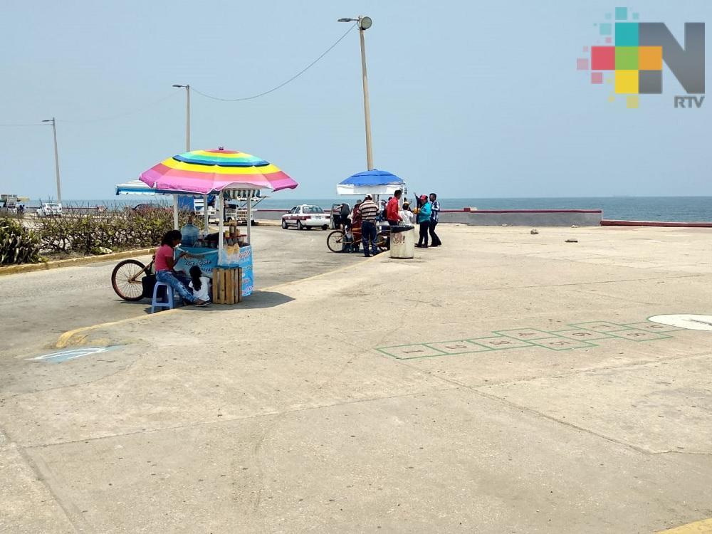 Día muy cálido con sensación térmica de 40-45° en costa y llanura
