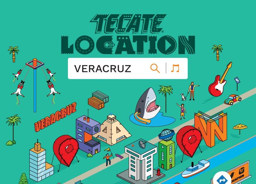 Festival Tecate Location este sábado en Veracruz