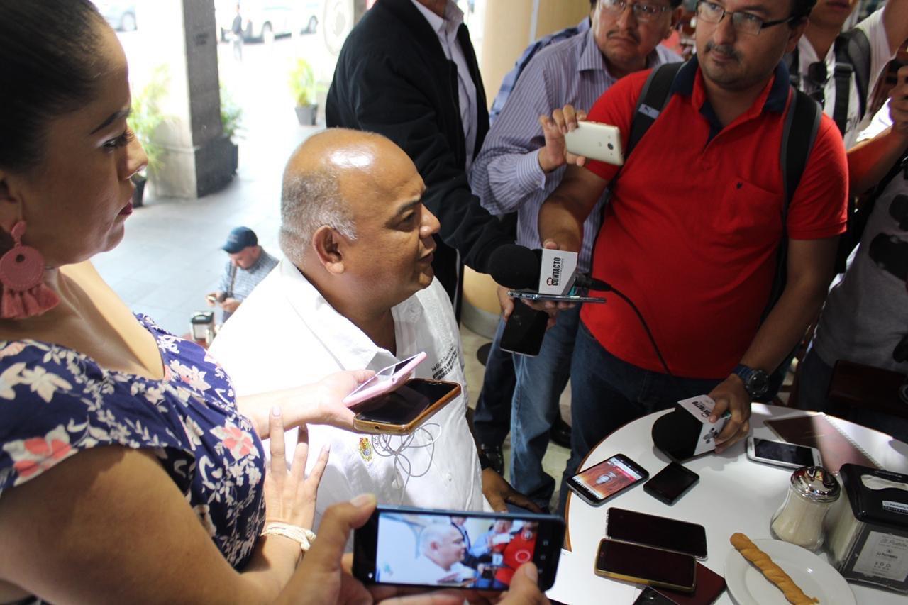 De acuerdo a «El Lagarto», Winckler está vinculado con el crimen organizado: Eric Cisneros