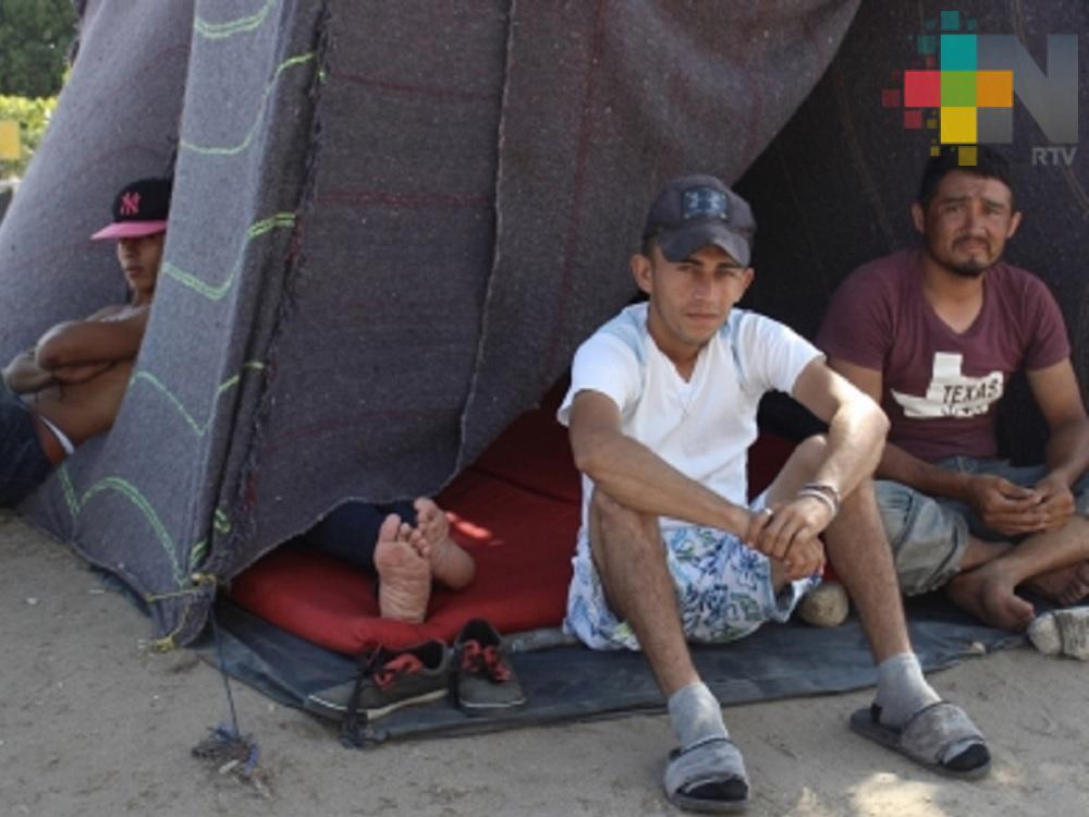 Disminuye paso de migrantes por municipio de Tierra Blanca