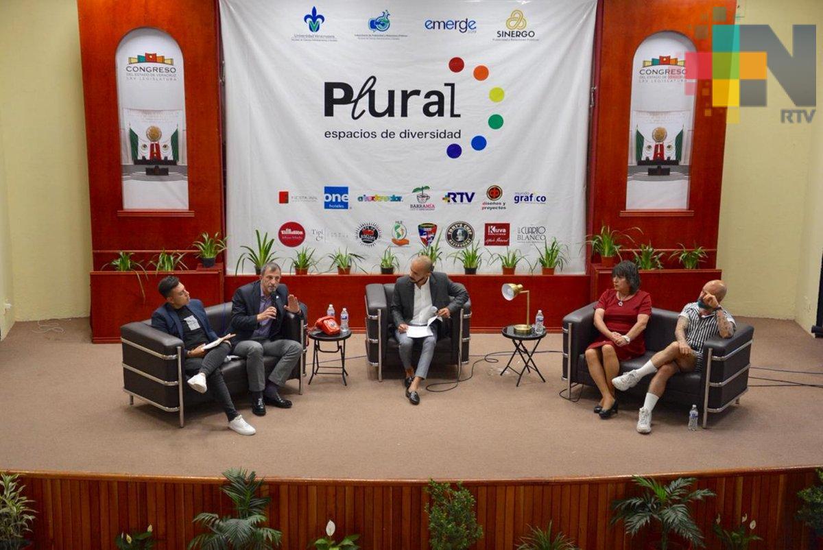 """Congreso del Estado, sede del foro """"Plural, espacios de diversidad"""""""