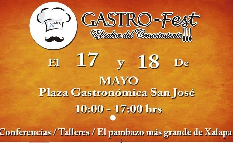 Este viernes será inaugurado el Gastro Fest Xanté en Xalapa