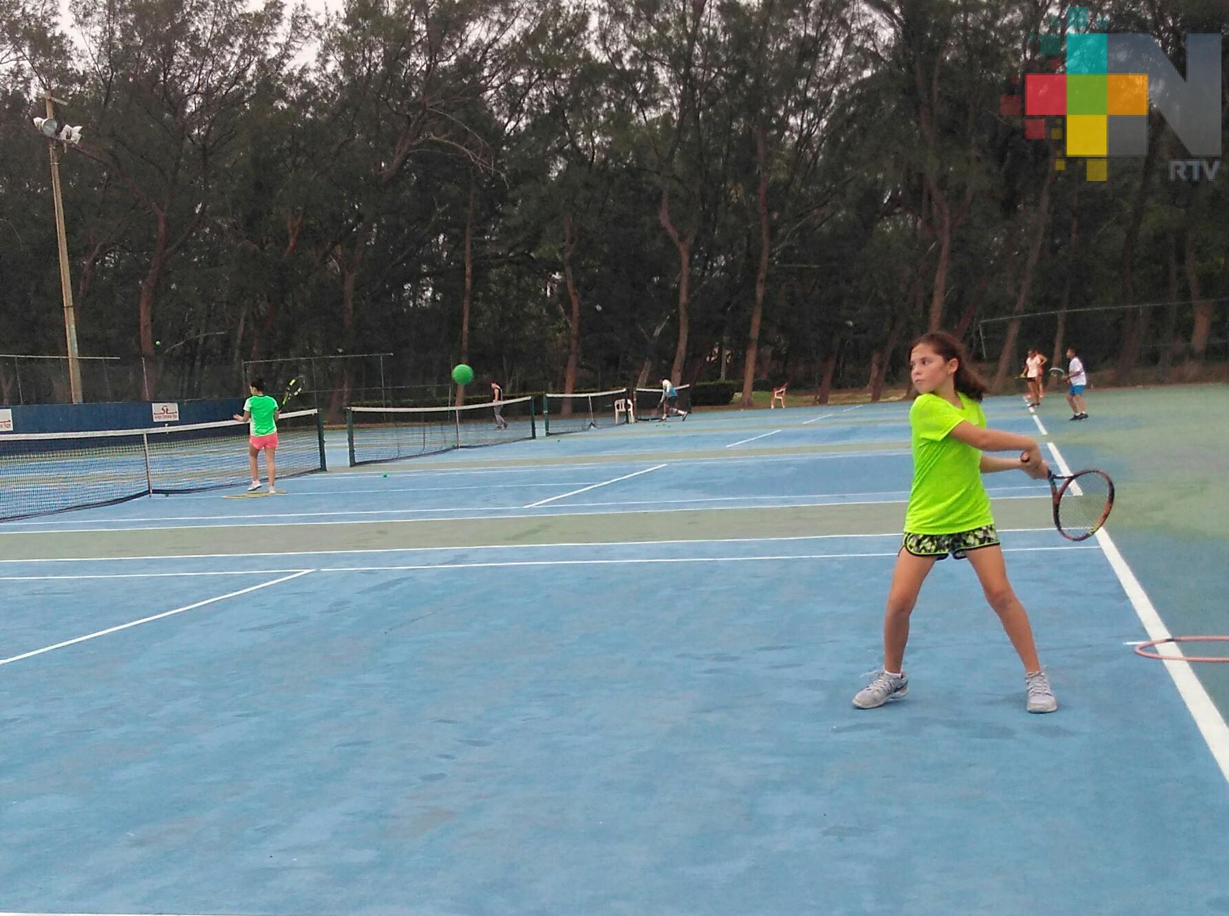 Este fin de semana Circuito Regional de Tenis en Coatzacoalcos