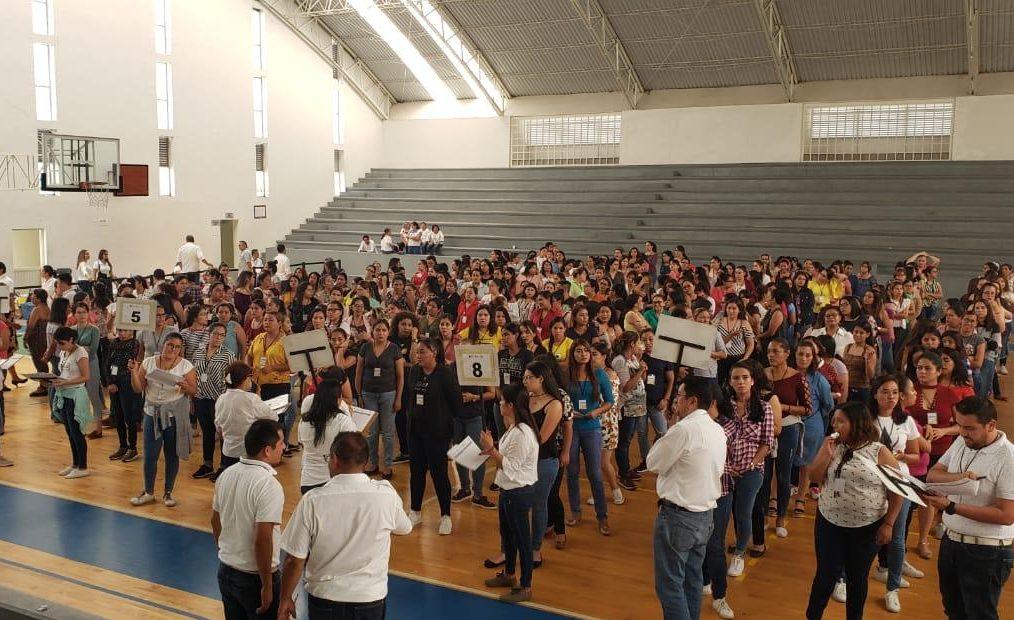 Participan mil 900 aspirantes en el proceso de ingreso al servicio docente, en Educación Básica
