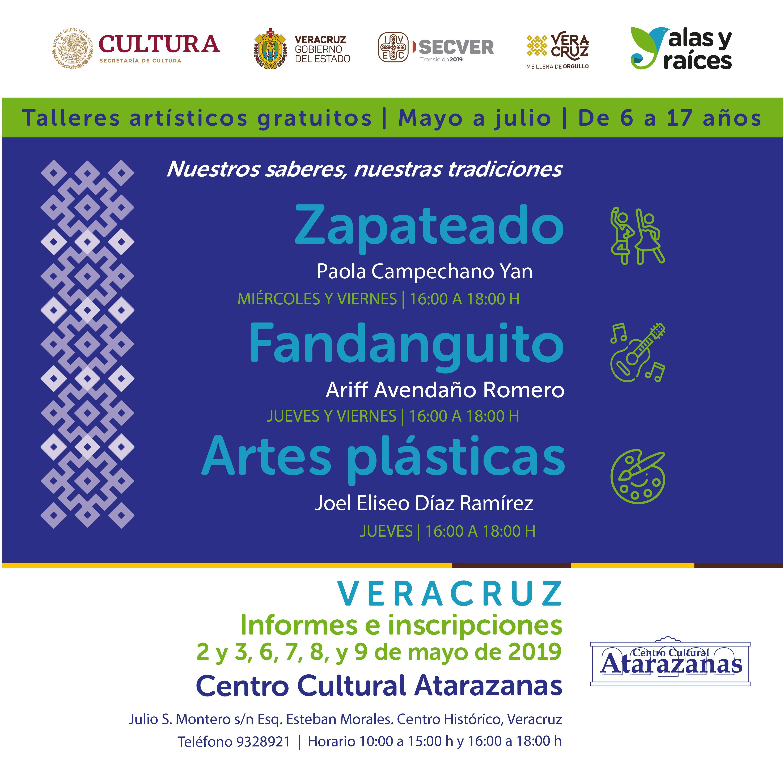 Ofrecerá IVEC talleres artísticos gratuitos para niños y jóvenes