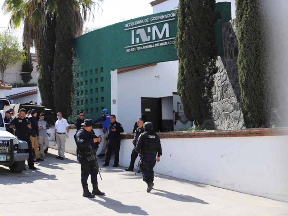 Indocumentados ocasionan incendio en estación migratoria de Oaxaca