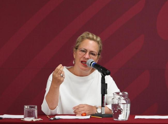 Renuncia Josefa González a Semarnat tras retrasar vuelo comercial