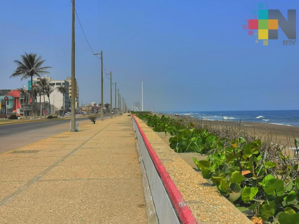 Se espera día cálido y viento con rachas frescas a fuertes en el sur de Veracruz