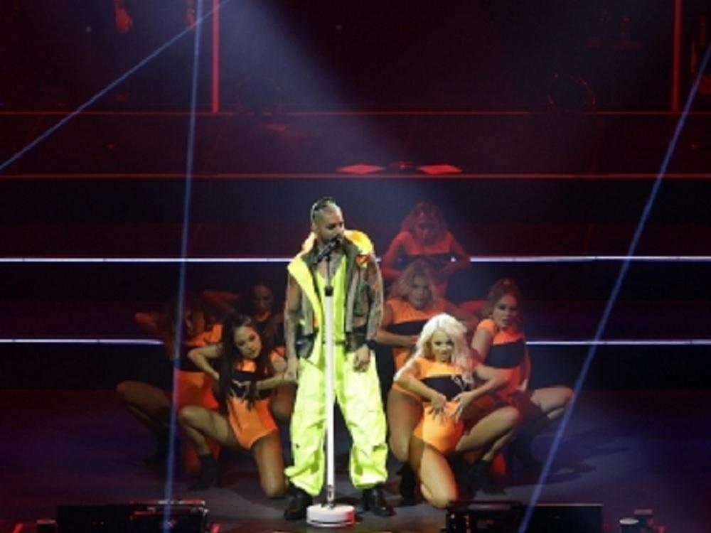 Maluma arma fiesta reggaetonera en el Auditorio Nacional