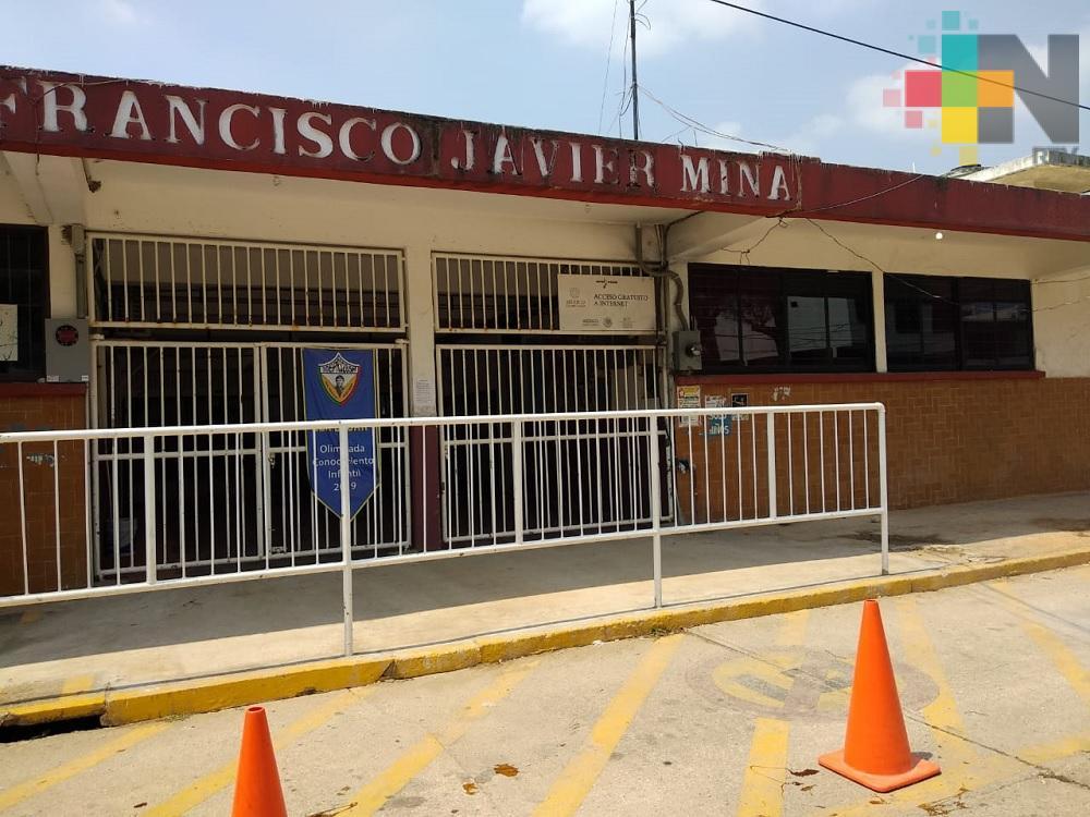 Por estiaje, escuelas de Coatzacoalcos carecen de agua potable
