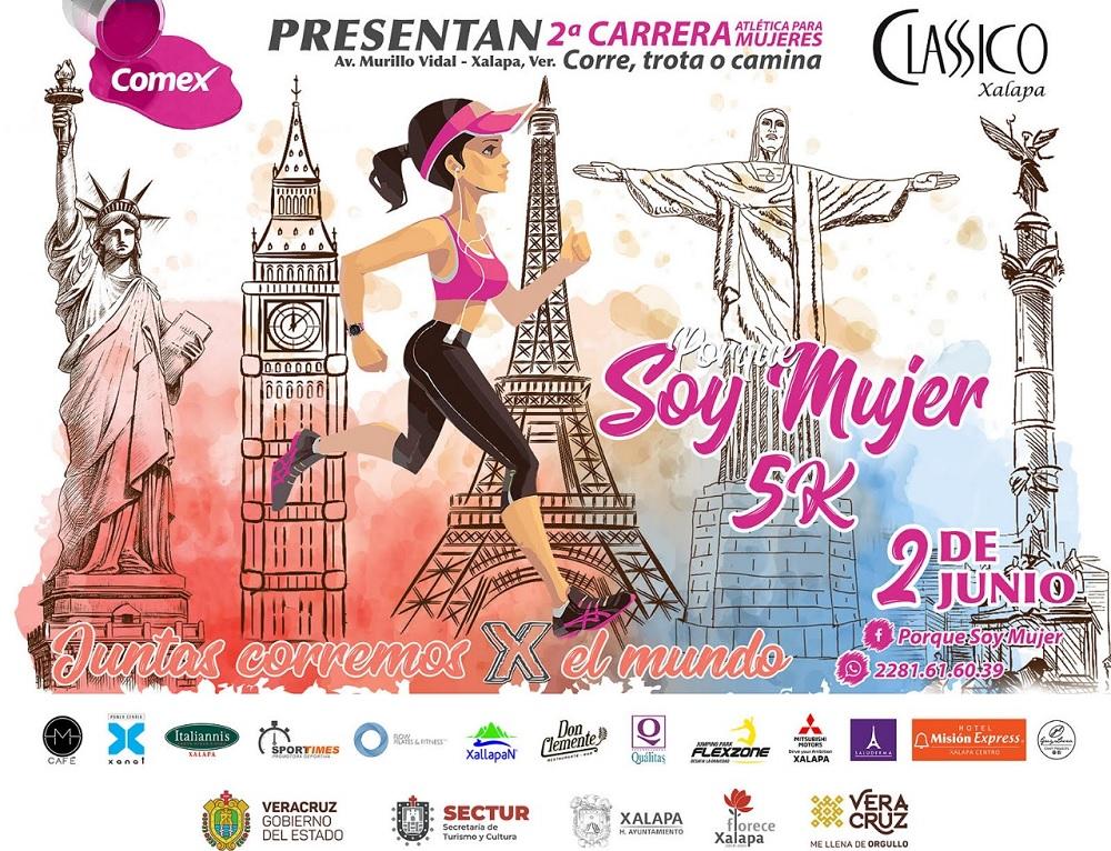 """Presenta Sectur la carrera """"Porque Soy Mujer 5K"""""""
