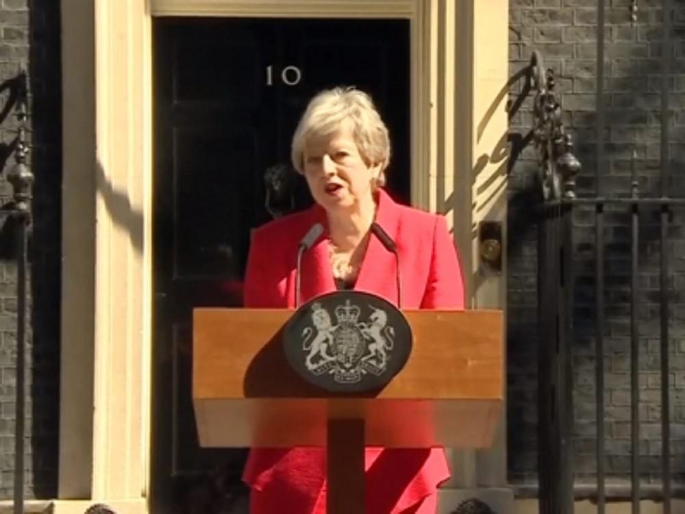 Theresa May dimitirá como primera ministra del Reino Unido el 7 de junio