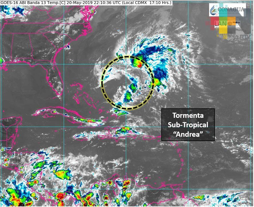 Alertan sobre primera tormenta tropical del Atlántico en próximas horas