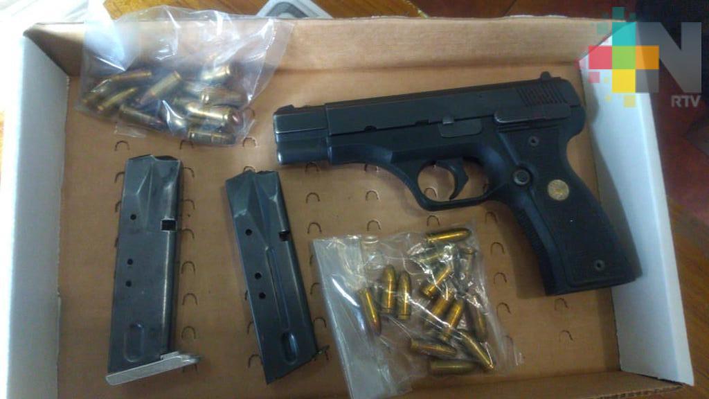 Detiene SSP a sujeto por portación ilegal de arma