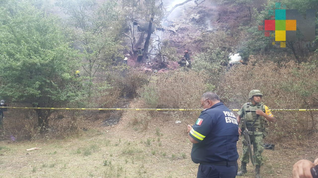 Cae aeronave en Atizapán de Zaragoza; muere el piloto