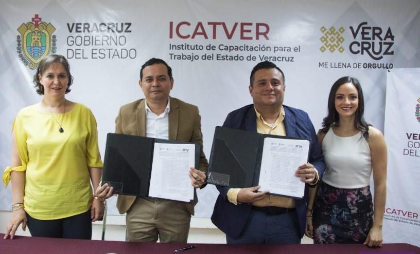 Firman convenio de colaboración RTV e Icatver