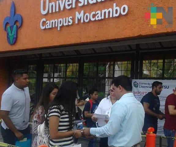 UV región Veracruz solo aceptará el 30% de los aspirantes