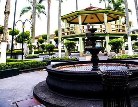 Kiosko Parque de Huatusco, Veracruz