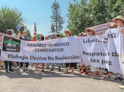 Se suman ciudades a manifestaciones contra políticas de López Obrador