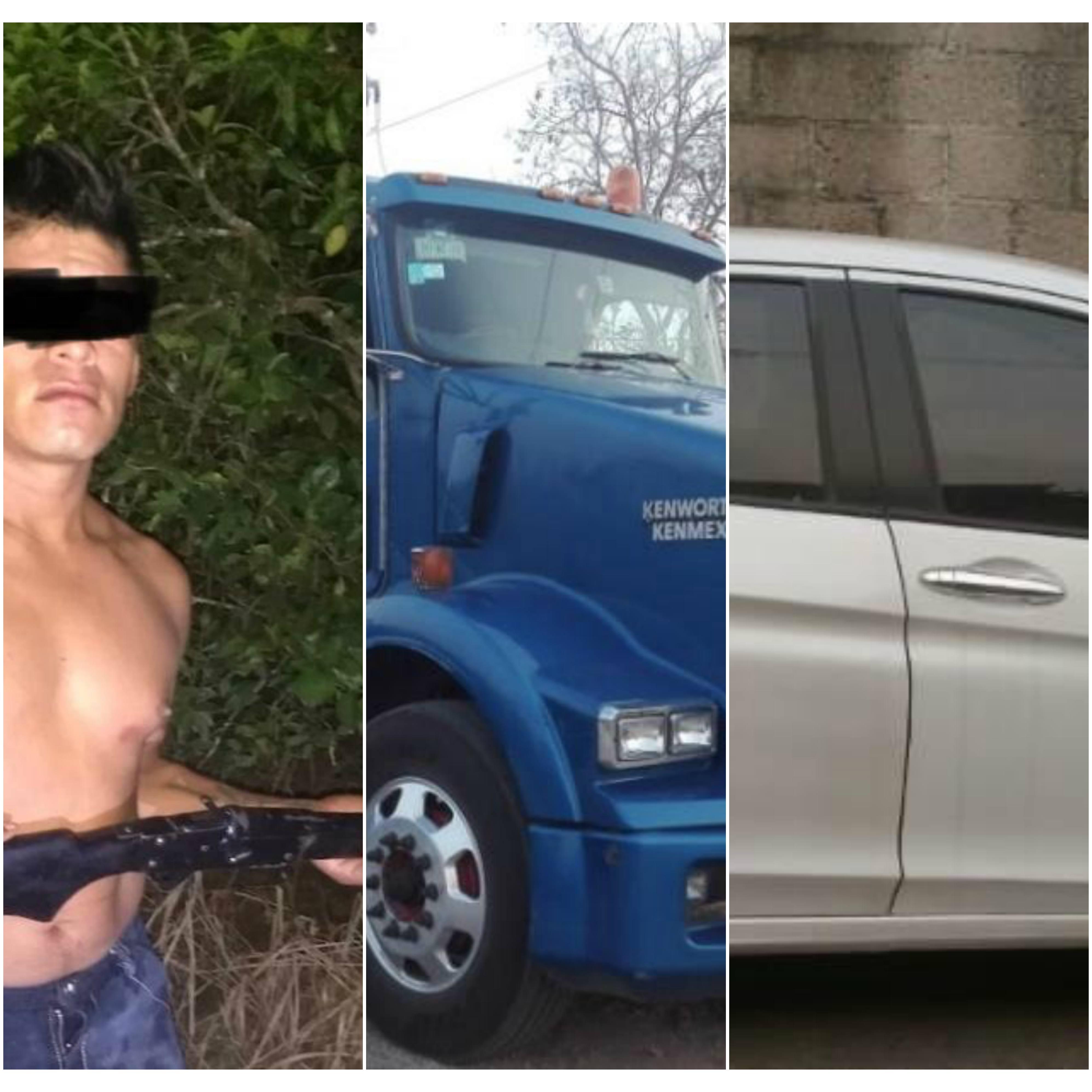 Recupera SSP cuatro vehículos con reporte de robo