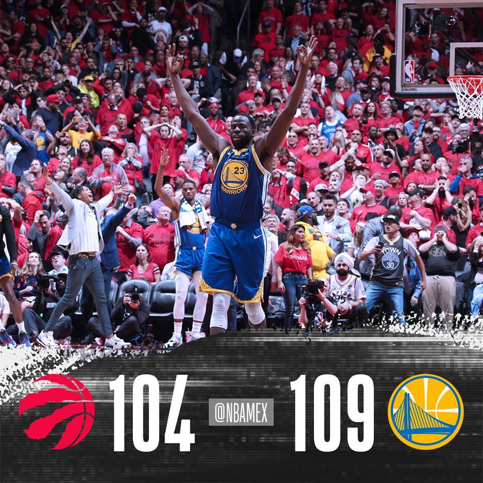 Warriors empata la Serie Final de la NBA